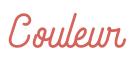 ロゴ:couleur